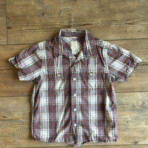 Old Navy Plaid Button Up XS (5)